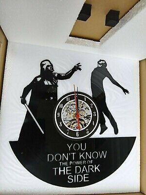 Star Wars Vinyl Record Clock Home Room Wall Decor Darth Vader New Star Wars Wall Clock