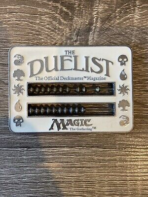 MTG The Duelist Abacus Life Counter White