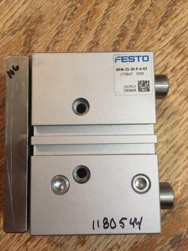 FESTO DFM-25-20-P-A-GF Guided Drive Cylinder 170847