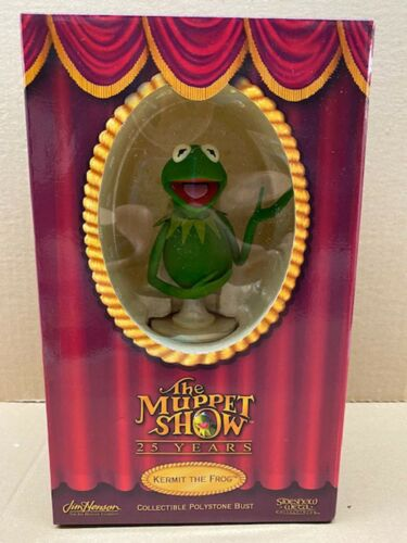 THE MUPPETS - SIDESHOW - 25th ANNIVERSARY BUST - Kermit