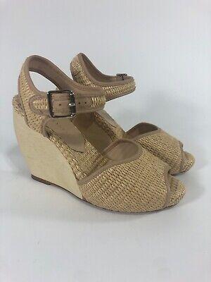 Valentine Wedge - Loeffler Randall Valentine Wedge Sandals in Natural Size 8 $375