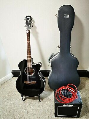 "Yamaha CPX 700 BL, Electric acoustic guitar. "" Including extras """