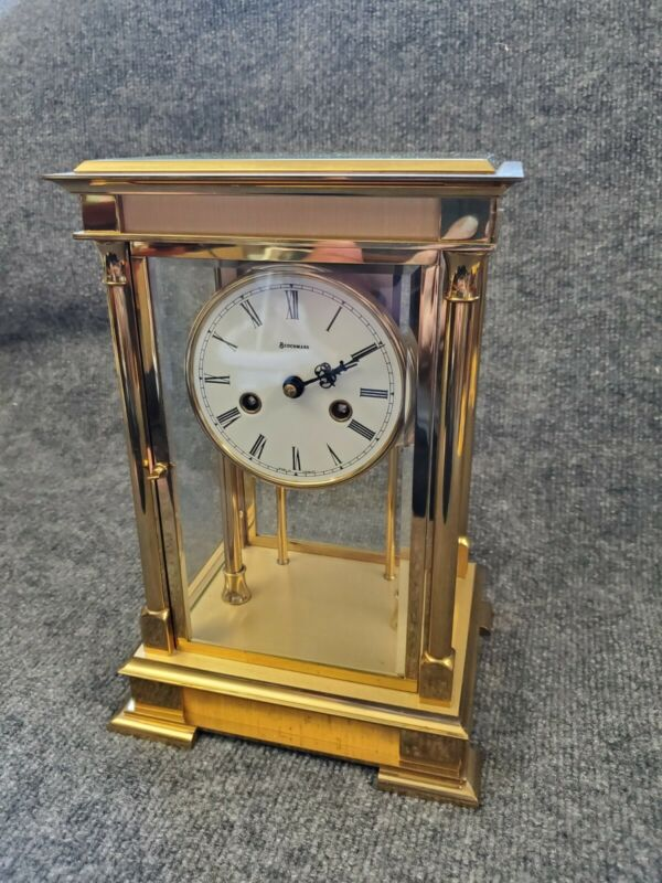 Benchmark Solid Brass Pendulum Clock