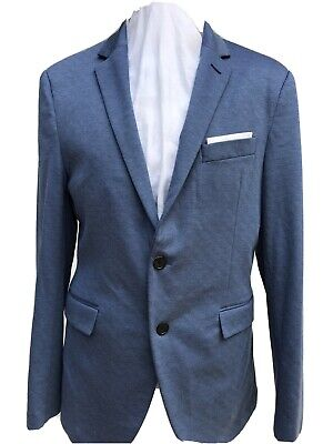 Zara Man Blue Blazer, USA 42, EUR 52, (item 021)