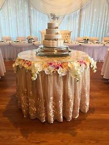 Floral Cake Table Hire Coogee Cockburn Area Preview