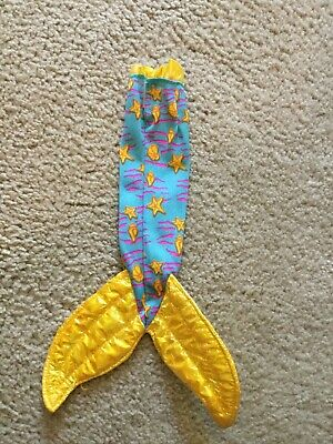 Disney's The Little Mermaid TROPICAL ARIEL 1991 TYCO Mermaid Tail Only Cloth