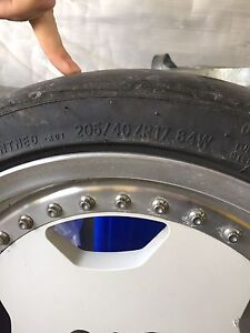 Neo Gen M+S tires & rims 205/40ZR17