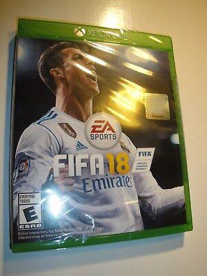 Brand New Sealed Fifa 18  Microsoft Xbox One  2017  Game El Juego Del Mundo