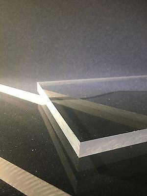 12 Thick Clear Polycarbonate Polycarb Sheet- Priced Per Foot- Cut To Size