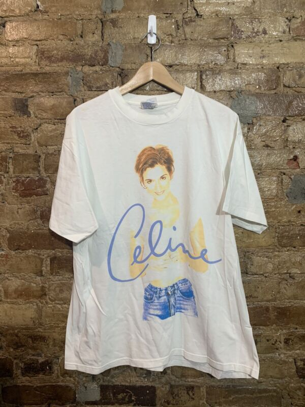 Vintage Celine Dion Shirt Size L Falling Into You