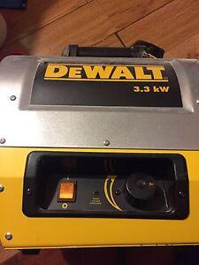 DeWalt heater 3.3kw 100 obo