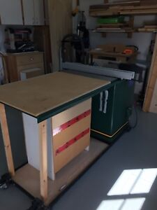 """Craftex 10"""" Cabinet Table Saw"""