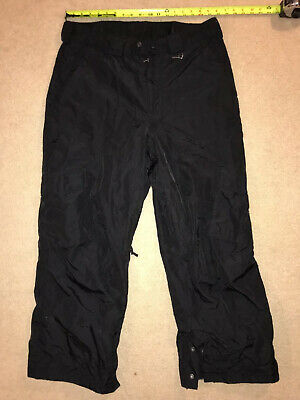 SIMS ~ Mens Sz L Black Cargo Vented Snow Pants Ski Snowboard (Sims Snow Pants)
