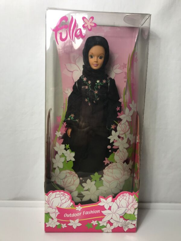 Fulla Early Edition Middle Eastern Islamic Doll with Abaya Outfit. 2006