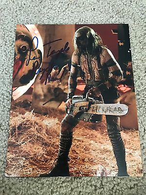 Lew Temple Autographed 8x10 Photo The Walking Dead Holloween Psycho-Head PROOF