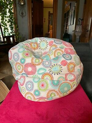 Gold Medal Bean Bags Starburst Pinwheel Bean Bag Chair