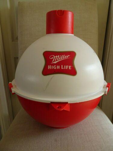 Vintage Miller High Life Beer Floating Fishing Water Bobber 12-Can Cooler