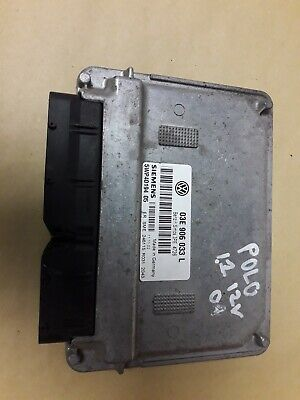 VW POLO 2003 1.2 12v AZQ SIEMENS ENGINE CONTROL UNIT ECU 03E 906 033
