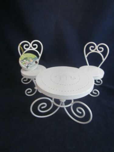 MUFFY VANDERBEAR Paris Bistrot Le Lapin Rotund Garden Party Table Chairs NEW TAG