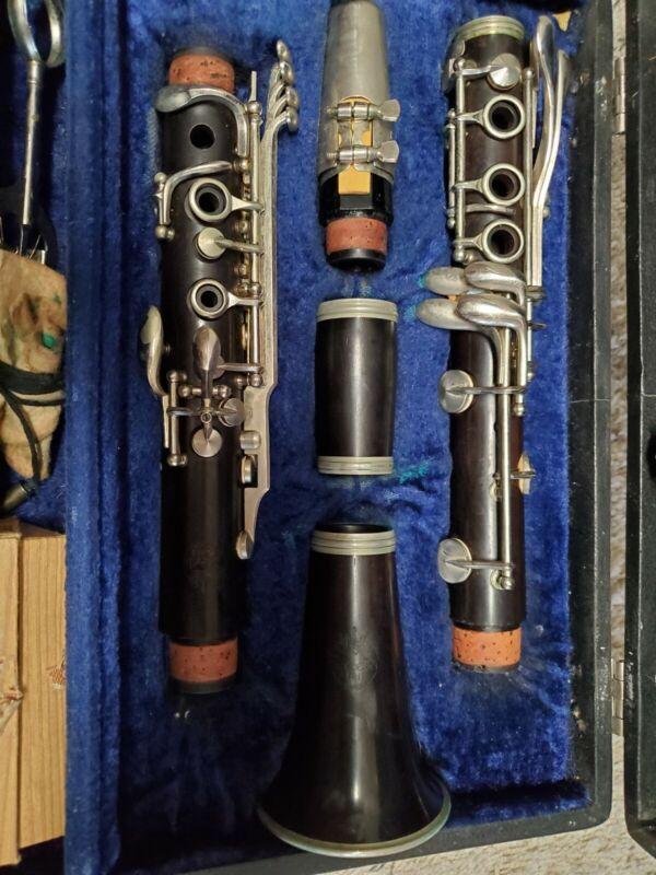 Vintage Wood King Clarinet