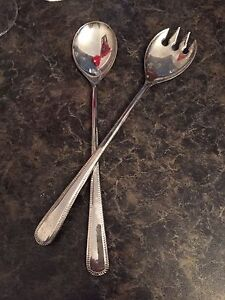 W. M. Rogers Sterling Silver Plated Utensils