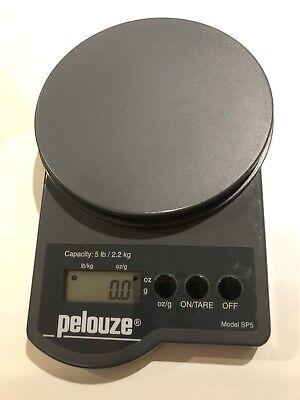 Pelouze Electronic Postal Scale - Model Sp5 - 5 Lb2.2 Kg Capacity