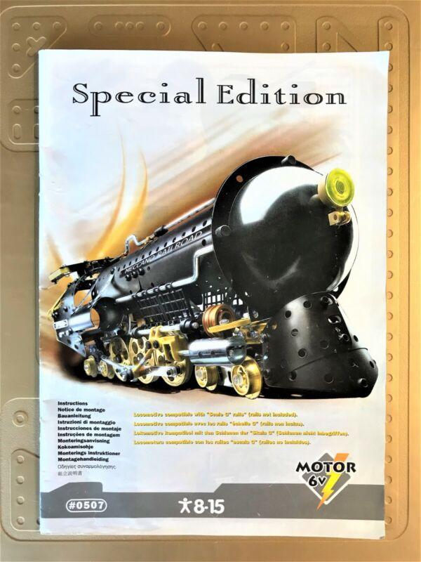 Meccano Erector Special Edition Train Set # 0507 Complete Set w/ Case & Manual