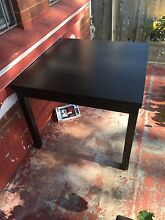 IKEA Bjursta Extendable dining table Summer Hill Ashfield Area Preview