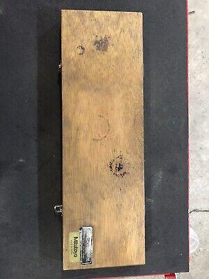 Mitutoyo 4-40 Id Micrometer
