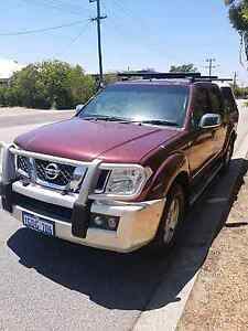 NISSAN NAVARA ST-X 4WD DUAL CAB Perth Perth City Area Preview