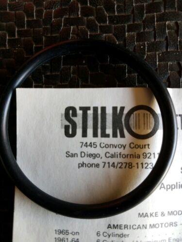New  STILKO SK-12  Eternal Oil Filter  O-RING   w/Parts Diagram & Instructions