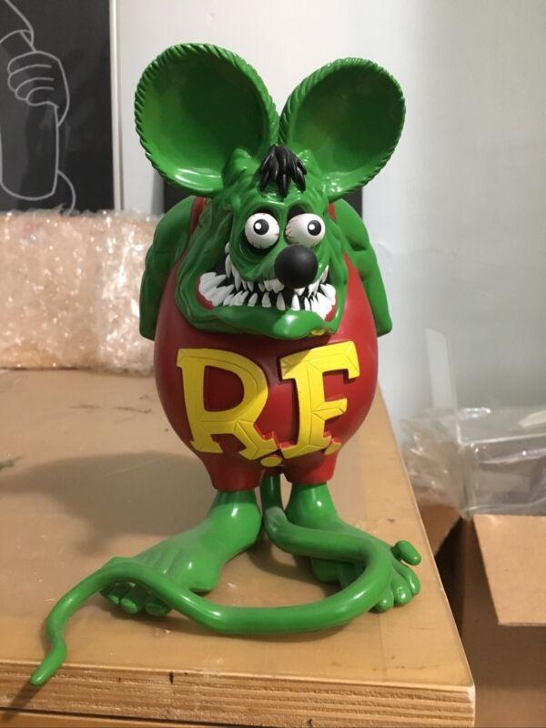Rat Fink Figure Toy 500 Limited Edition Ed Roth MOONEYES Sofubi Soft Vinyl