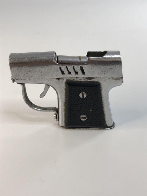 "VTG 2"" Continental New York Occupied Japan Toy Gun Zippo Lighter Strong Spring"