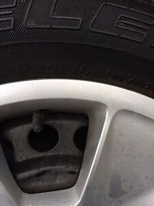 Tires/steel rims for sale