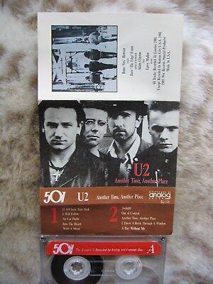 U2 Another Time, Another Place LIVE Boy Tour 1981 Cassette NEVER PLAYED ORIGINAL gebraucht kaufen  Versand nach Germany