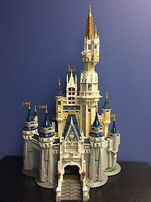 LEGO Disney Princess The Disney Castle (71040) - Used NO MINIFIGURES NO BOX.
