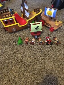 Jake and the neverland pirates set