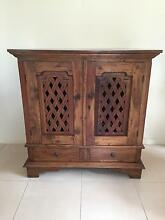 Balinese Style Entertainment Unit / Drinks Cabinet Northbridge Willoughby Area Preview