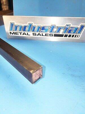 34 X 12-long 4130 Steel Sqaure Bar-.750 4130 Mil-s-6758-- Made In Usa
