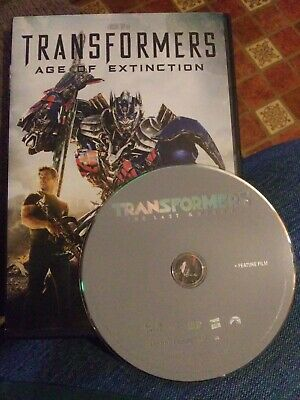 Transformers: The Last Knight & Age of Extinction (DVD)