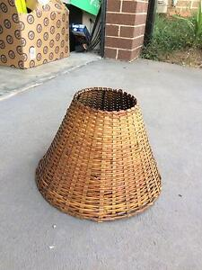 Wicker Lamp Shade Casey Area Preview