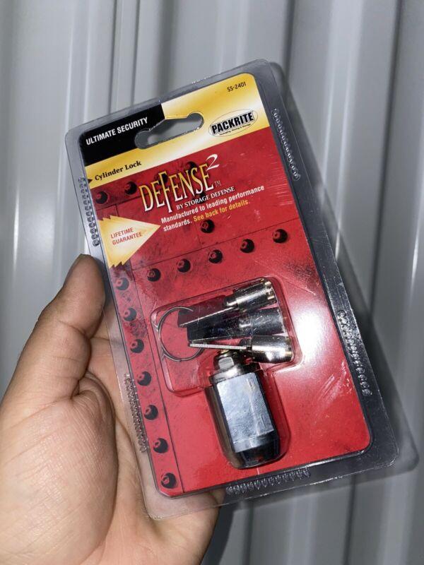 SS-2401 Storage Cylinder Lock Defense 2 Key Packrite Ultimate Security