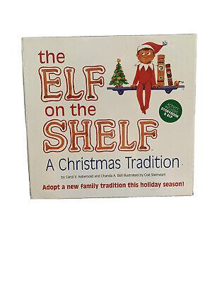 The Elf on the Shelf BOY DOLL-BLUE EYES—A Christmas Tradition with Book—NIB