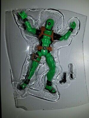 "Marvel Legends 3.75"" Deadpool Rainbow Squad GREEN Action Figure"