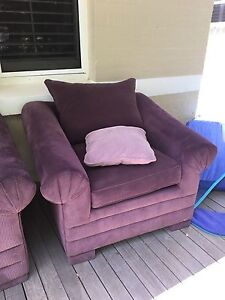 3 piece lounge (2 single seats & a double sofa bed) Yokine Stirling Area Preview