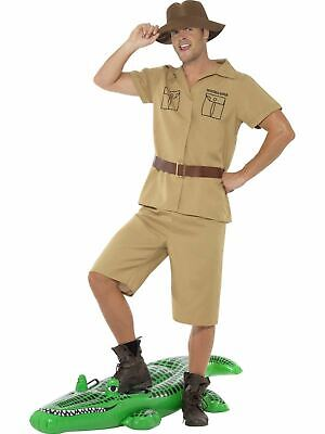 Safari Mens Costume Adult Fancy Dress Outfit Dressup Stag Party](Mens Safari Outfit)