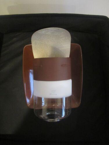 Vintage Humphrey Camper Propane Gas Wall Sconce Light Glass Globe