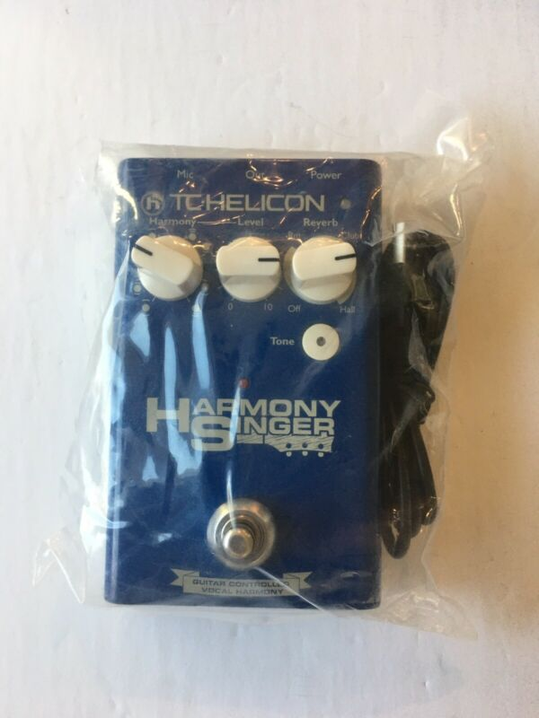 TC Helicon Harmony Singer V1 Guitar Controller Vocal Effect Pedal Processor