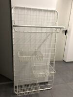 Gitter-Garderobe mit Ablage und Körben Hessen - Münster Vorschau