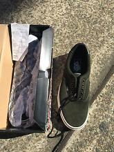 BNIB-  Vans real leather shoes men's  9, women's 10.5 in US Size Westmead Parramatta Area Preview